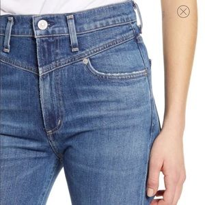 • Citizens of Humanity • Mia Front Yoke Slim Jeans